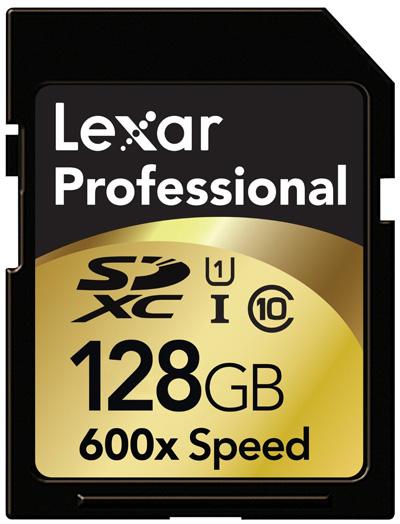 Lexar Professional 128 GB micro SDXC card