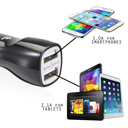 iluv Dual USB Car charger