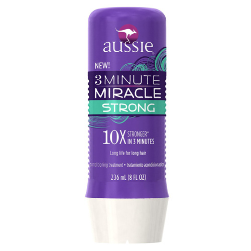 Aussie 3 Minute Miracle Strong Conditioning Treatment 8 Fl Oz