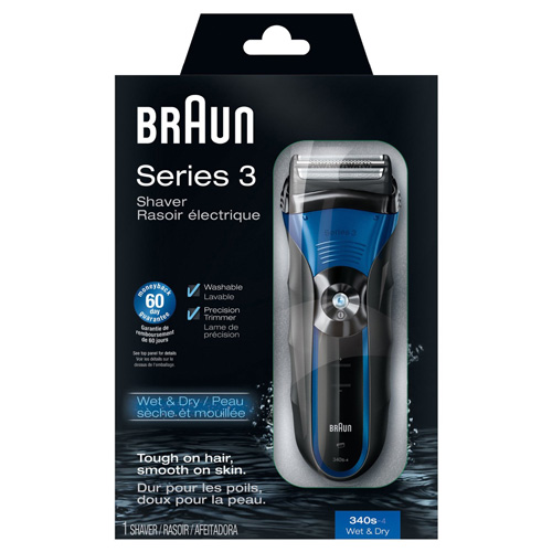 Braun Series 3-340s Wet & Dry Men's Shaver 1 Count