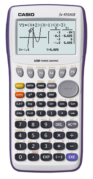 Casio-fx-9750GII-Graphing-Calculator