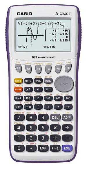 Casio-fx-9750GII-Graphing-Calculator