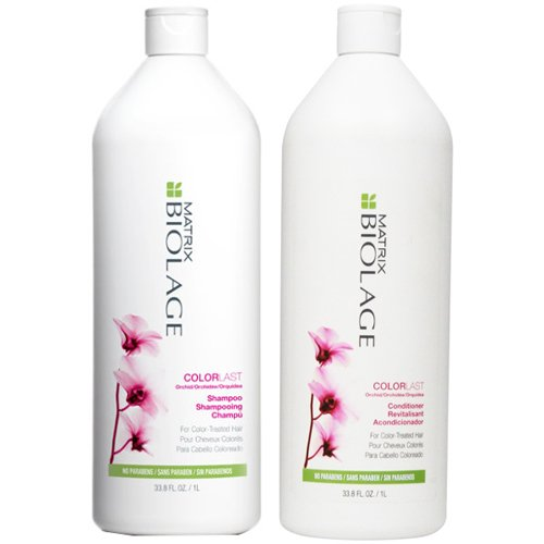 Matrix Biolage COLORLAST Shampoo and Conditioner Liter Duo