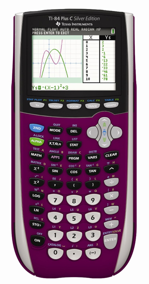 Texas-Instruments-TI-84-Plus-C-Silver-Edition-Graphing-Calculator