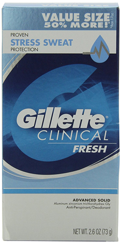5 Gillette Clinical Strength