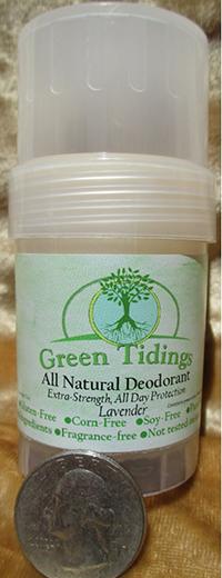 6 green tiding all natural deodorant