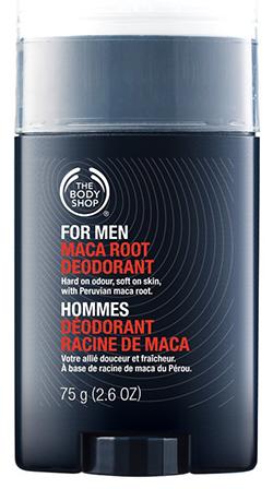 7 The body shop for men maca root deodorant