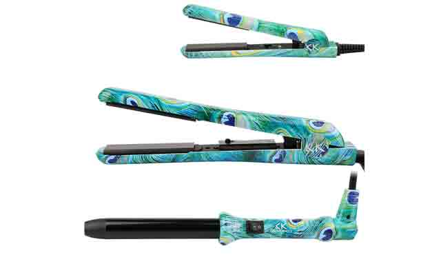 8. ISHAKO Ceramic Flat Irons Pro + Mini Hair Straightener