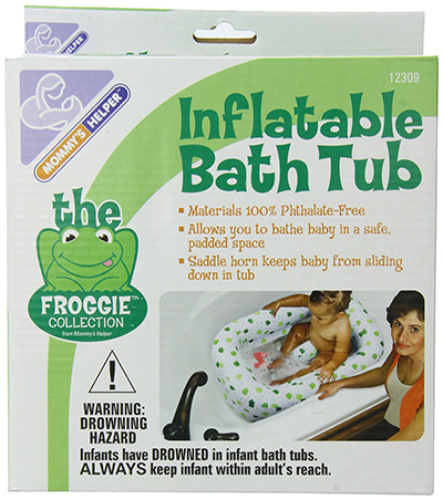 Momy's Helper Infalatable Bath Tub