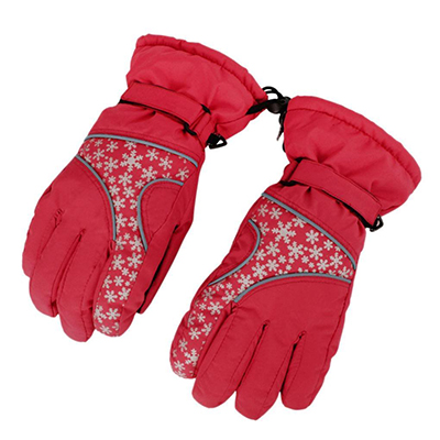 Woman Waterproof Windproof Adjustable Gloves