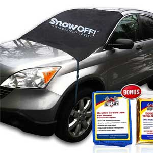 2. Vafee Car Snow Covers Ice Protector Windshield Cars Truck Sun Shield
