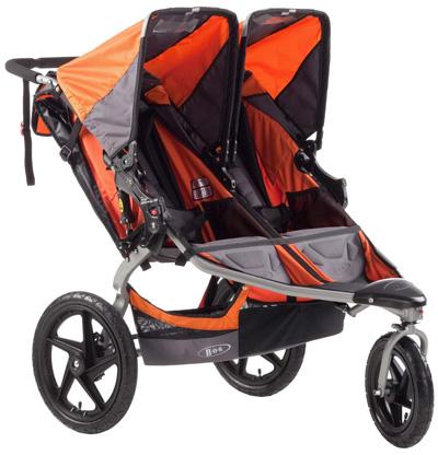 BOB-Revolution-SE-Duallie-Stroller,-Orange