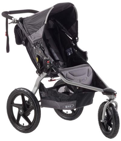 BOB-Revolution-SE-Single-Stroller,-Black