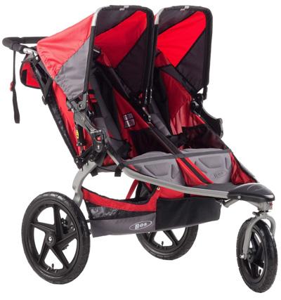 BOB-Stroller-Strides-Duallie-Fitness-Stroller,-Red