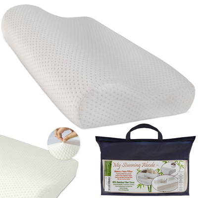 Ergonomic-Memory-Foam-Pillow