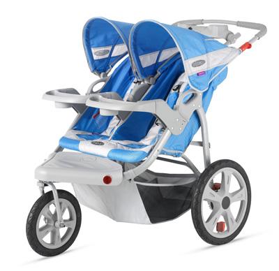 InStep-Safari-Double-Swivel-Stroller