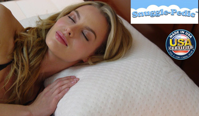 Snuggle-Pedic-King-Size-Bamboo-Combination-Shredded-Style-Memory-Foam-Pillow