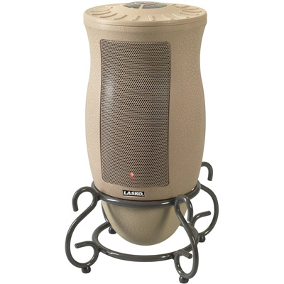 10. Lasko 6435 Designer Series Ceramic Oscillating Heater with Remote Control