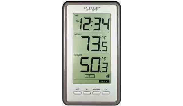 1. La Crosse Technology WS-9160U-IT Digital Thermometer