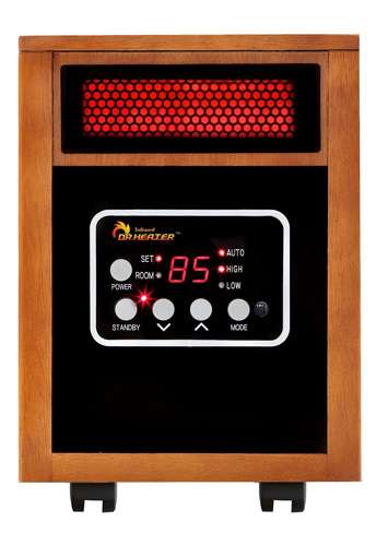 8. Dr Infrared Heater Portable Space Heater, 1500-Watt