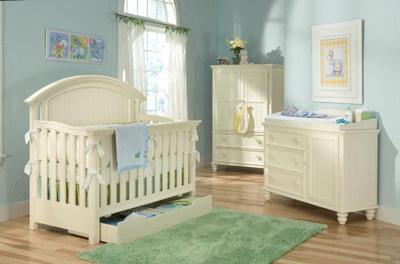 Legacy Clic Kids Summer Breeze Nursery Crib Bedroom Set