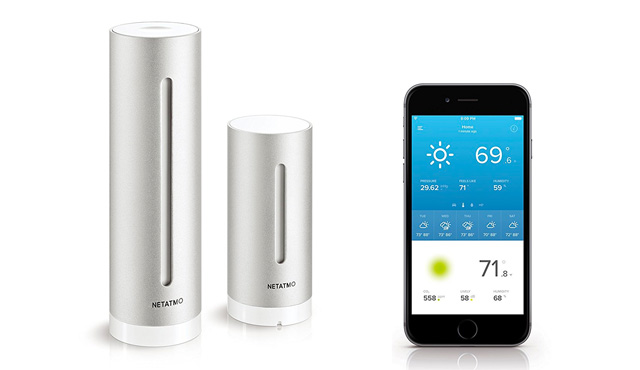 10. Netatmo Weather Station for Smartphone