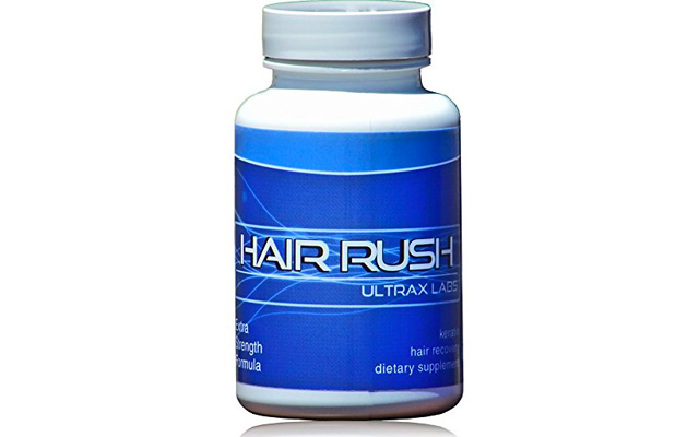 3. Ultrax Labs Hair Rush DHT Blocking Hair Loss Maxx Hair Growth Nutrient