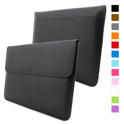 2. Snugg™ Macbook Air & Pro 13 Case - Leather Sleeve