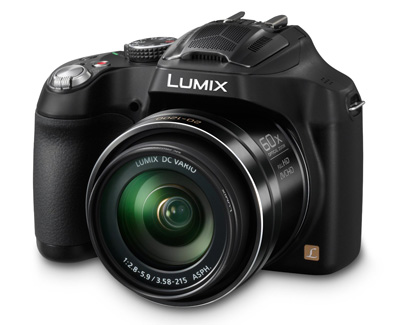 3. Panasonic LUMIX DMC-FZ70 16.1 MP Digital Camera with 60x Optical Image Stabilized Zoom and 3-Inch LCD (Black)
