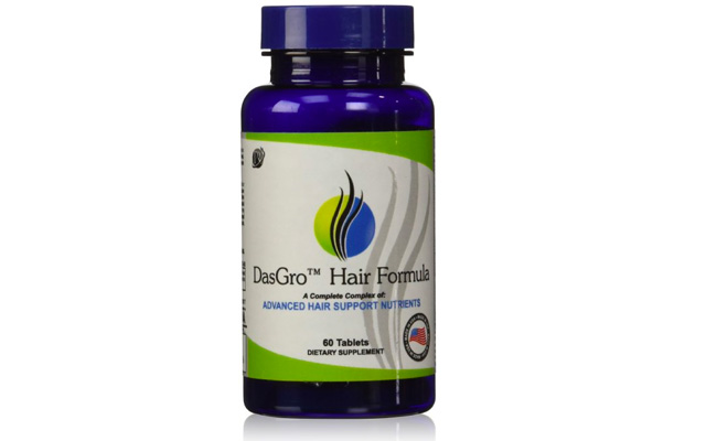 5. DasGro Hair Growth Vitamins