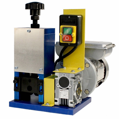 8. SDT WRA15 Deluxe Automatic Benchtop Wire Stripping Machine with 110V 50-60Hz 1/4 hp Motor for Scrap Copper Wire Up to 1