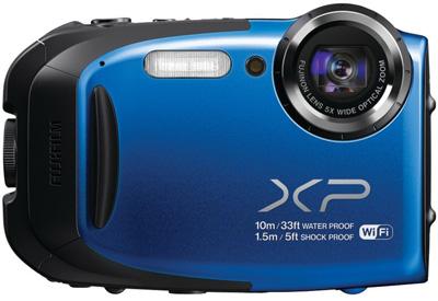 1. Fujifilm XP70 16 MP Digital Camera with 2.7-Inch LCD (Blue)