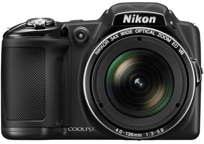 2. Nikon COOLPIX L830 16 MP CMOS Digital Camera with 34x Zoom NIKKOR Lens and Full 1080p HD Video (Black) (Discontinued by Manufacturer)