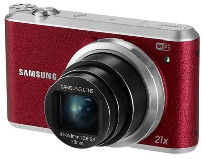 7. Samsung WB350F 16.2MP CMOS Smart WiFi & NFC Digital Camera with 21x Optical Zoom, 3.0