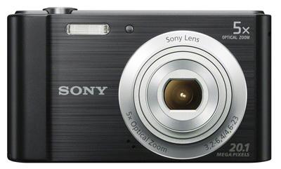 8. Sony W800/B 20.1 MP Digital Camera (Black)