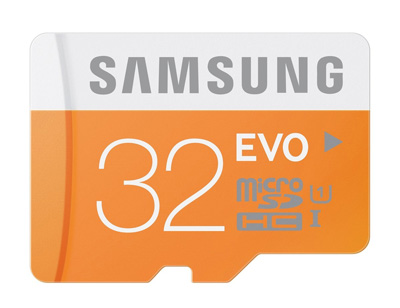 9. Samsung EVO Class 10 Micro SDHC