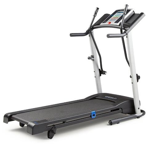 #1. Weslo Crosswalk Treadmill