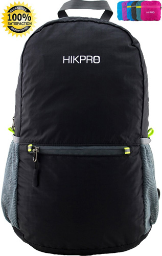 3. #1 Rated Ultra Lightweight Packable Backpack Hiking Daypack + Most Durable Light Backpacks