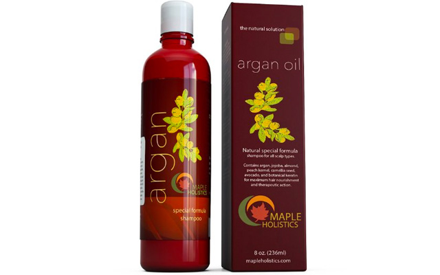 1. Maple holistics Argan oil shampoo
