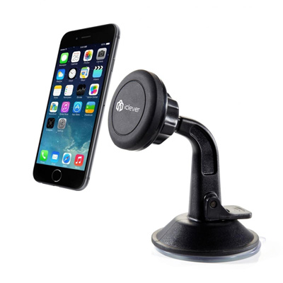 7. Car Mount, iClever® ICH04 Magnet CaptureFit Universal Windshield & Dashboard Car Mount Cradle Holder for iPhone 6 Plus