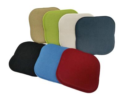 9. Multiple Colors - One Memory Foam Chair Pad- 16