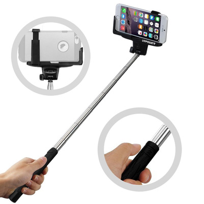 9. URPOWER® Pro 2-In-1 Self-portrait Monopod Extendable Selfie Stick