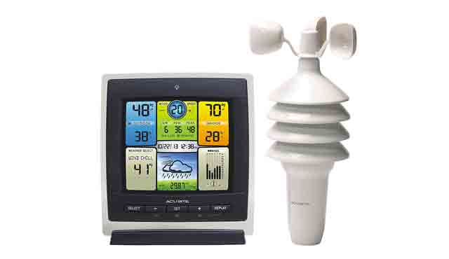 8. AcuRite 00589 Pro Color Weather Station