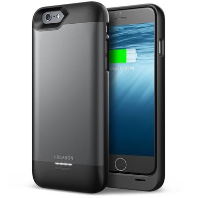 8. i-Blason Apple iPhone 6 Plus External Protective Battery Case