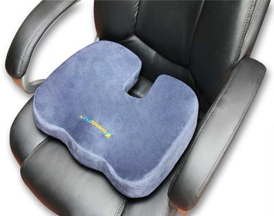 3. SunrisePro Orthopedic Coccyx Seat Cushion
