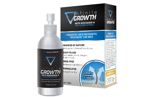 9. Infinite Growth - Hair Regrowth Treatment for Men