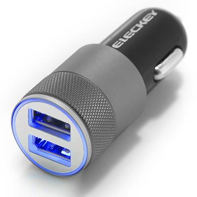 3. EleckeyTM 2.1A Dual USB Port Car Charger for Cell Phone