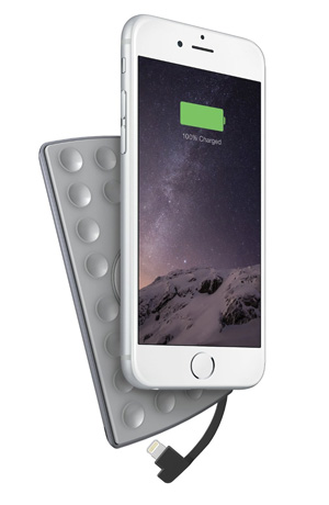 3. PowerSkin PoP'n 3 Attachable Battery Pack for iPhone 6/6Plus