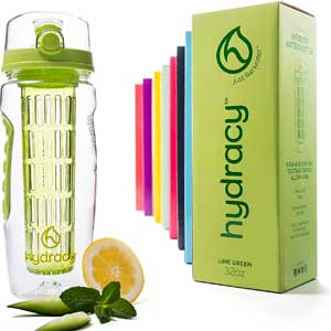 2. Hydracy Fruit Infuser Water Bottle