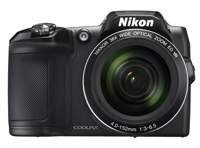 10. Nikon COOLPIX L840 Digital Camera with 38x Optical Zoom and Built-In Wi-Fi (Black)